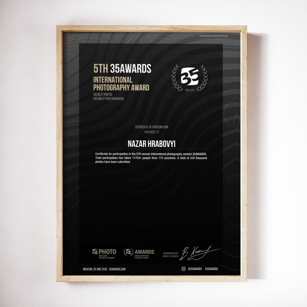 Certifiace 35Awards
